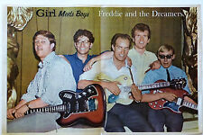 FREDDIE and the DREAMERS  - 1960'S MAGAZINE CENTREFOLD POSTER
