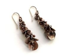 Silpada Sterling Silver Metallic Seed Bead Waterfall Earrings - W2172 - RETIRED