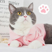 Pet Shirt Dog Cat Soft Knitted Coat Kitten Cotton Spring Clothing Home Apparel