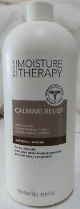 Avon Moisture Therapy CALMING RELIEF BODY LOTION 33.8 fl. oz. BONUS SIZE. UNISEX