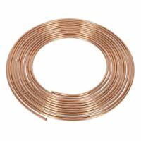 """Sealey Brake Pipe Copper Tubing 22 Gauge 3/16"""" x 25ft BS EN 12449 C106"""