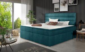 Lujo Dormitorio Cama Tapicería Diseño de Lujo Doble Hotel Camas Cama