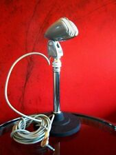 Vintage RARE 1950's Archer S-3X crystal microphone Japanese old antique w stand