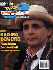 DOCTOR WHO MAGAZINE #156 RAISING DEMONS, ANTHONY AINLEY, Stephen Mansfield