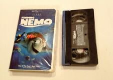 Finding Nemo (VHS, 2003) Preowned Clam Shell
