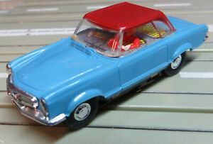 Faller Ams Mercedes 230 Sl Coupe with Flat Armature Motor