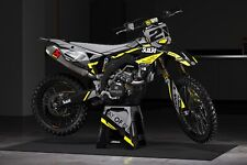 Rebound Graphics Kit to fit: Suzuki RM RMZ 85 125 250 450 models all years 009