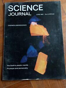 Science Journal June 1965 Vintage magazine