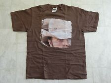 Dwight Yoakam Concert T-Shirt 2000 A Long Way Home Size L Large Brown Vg Shape