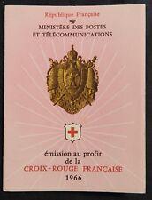 S* Carnet CROIX ROUGE 1966 (Neuf**MNH TBE)*