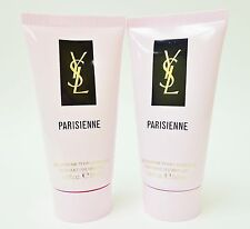 YSL YVES SAINT LAURENT PARISIENNE Shower Gel 1.6oz 50ml Minis NEW x2