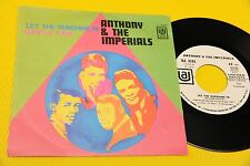 "ANTHONY & THE IMPERIALS 7"" GENTLE RAIN ORIG ITALY 1969 NM !!! PROMO EDITION !!"