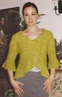 cb48e09a0 Rico Design Ladies Cardigan   Hat Fashion Alpaca Dream Knitting ...