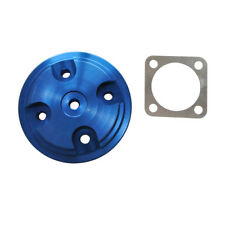Blue Cylinder Head Cover Modified Parts Fit 80cc 2- Stroke Motorized Bike