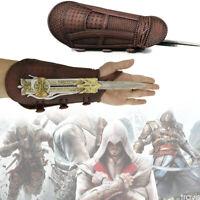 2020 Assassin's Creed Sword Hidden Blade Gauntlet Toys Cosplay Prop Men Boy Gift