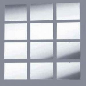 Rectangle Mirror Mosaic Tiles (Several Sizes Available) Crafting & Wall tiles