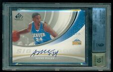 2005-06 SP Game Used Edition ANDRE MILLER Autograph /25 BGS 9 & 10 POP 1