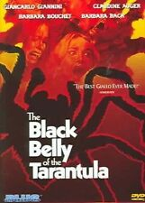 Black Belly of The Tarantula 0827058111492 With Giancarlo Giannini DVD Region 1