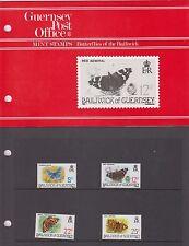 Guernsey 1981 Butterflies MNH Presentation Pack