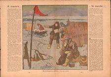 Jan Mayen Norway / North Pole Murmansk Mourmansk Russia USSR 1937 ILLUSTRATION