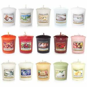 15 x Official Yankee Candle Votive Samplers Assorted Fragrances -All Different