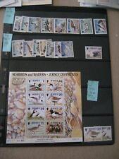 Jersey 1997-8 Birds 2 Sets+ and 1 Ss Mnh Po Fresh Cv$39+