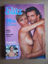 BLITZ n°36 1983 con Strip Poster Eleonora Giorgi [G435]