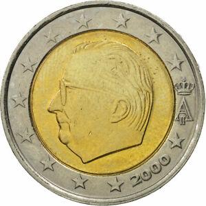 [#463426] Belgique, 2 Euro, 2000, SPL, Bi-Metallic, KM:231
