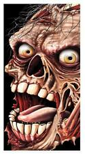 SCREAMING ZOMBIE HUGE EYES DOOR COVER HALLOWEEN PARTY DECORATION BG00006