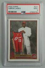 2003-04 Topps #221 LeBron James RC Rookie Card PSA 9 MINT