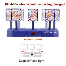 Mobile Electronic Digital Scoring Move Target Boys Girls Indoor / Outdoor Toy N