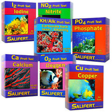 SALIFERT PROFI TEST KIT RANGE MARINE REEF SALTWATER CORAL AQUARIUM FISH TANK