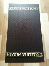 Louis Vuitton Beach Towel 100% cotton size 170cm. x 90cm. color Black