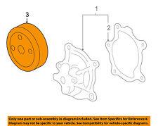 GM OEM Water Pump-Pulley 12577763
