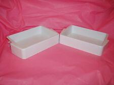 HOTPOINT MISTRAL Fridge Freezer Half width Door Shelf X2  butter cheese