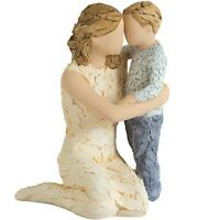 More Than Words Love You Forever Mum Son Mothers Day Mum Gift Exclusive Figurine