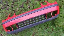 Volkswagen Polo 9N 02-05 Front Bumper Red 6Q0807221