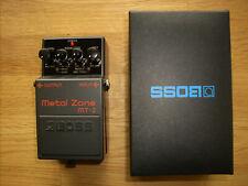 Boss Metal Zone MT-2 Fußpedal - Distortionpedal für E-Gitarre - wie neu!!!
