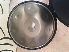 """Steel Handpan -  Meridian 21"""" Stainless - C# Raga Desh"""