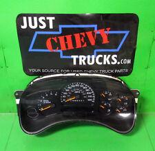 00 to 02 Classic Chevy Silverado GMC Sierra 1500 Speedometer Gauge Cluster 207K