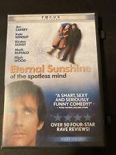 Eternal Sunshine of the Spotless Mind (Dvd, 2004, Full Screen) Like New - V