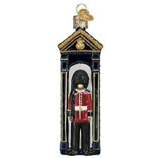 Old World Christmas Palace Guard England (24201)N Glass Ornament w/ Owc Box