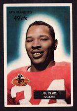 1955 BOWMAN #44 JOE PERRY 49ers
