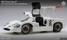 Exoto 1967 Le Mans Chaparral 2f #8 Jennings/johnson Never Displayed