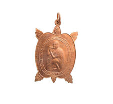 Amulette Thai Rich Magic Coin Lp Koon Wealth Pendant Turtle Tortue Amulet  8038