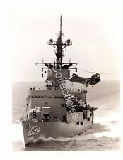 US Navy Ship Photo USS Pharris FF-1094 HC-6 H-46 Sea Knight original Photo 8x10