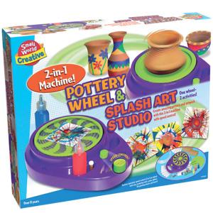 POTTERY & SPLASH ART STUDIO 2 IN 1  Small World Toys craft set to create pottery