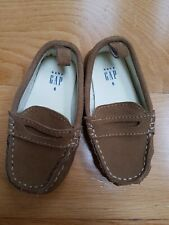 Gap New Without Tags Baby Boys Suede Moccasins, Size 6