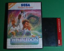 Sega Master System Mixed Sports Video Games with Manual