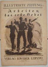 Illustrierte Zeitung Verlag J.J.Weber Leibzig 27.Februar 1919 Nr.3948